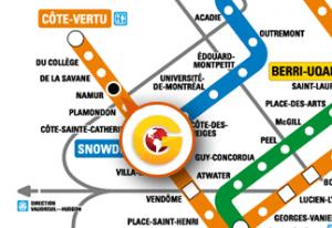 STL Branch Metro map