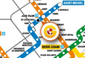 TMR Branch Metro map