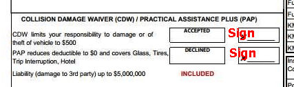 Rental agreement - CDW