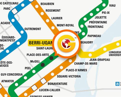 Station de métro Place-des-arts